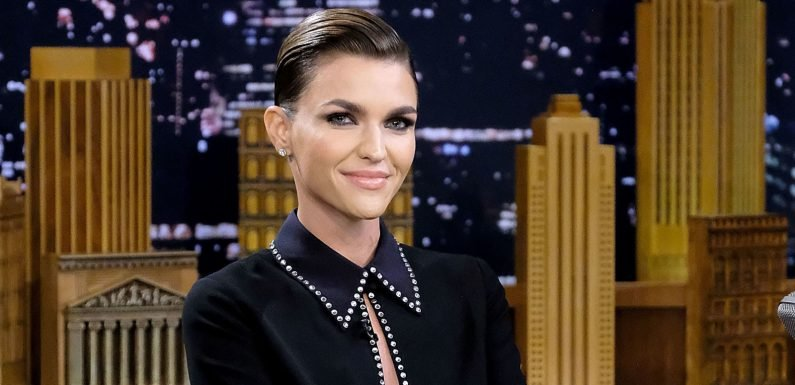Batwoman star Ruby Rose looked so different without her trademark hair and tattoos