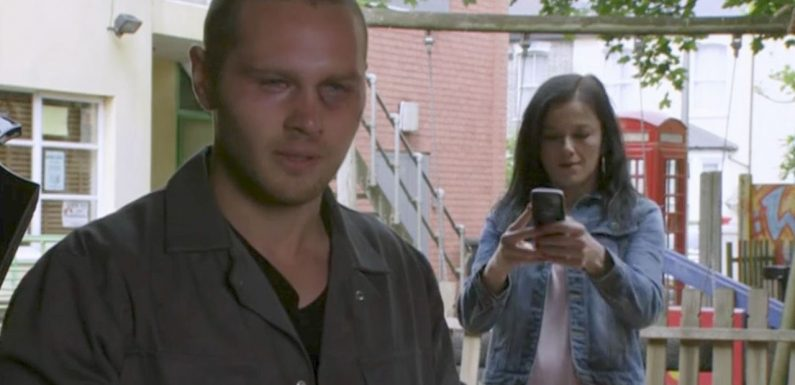 EastEnders' Keanu Taylor nearly kills Hayley Slater in shocking act of violence
