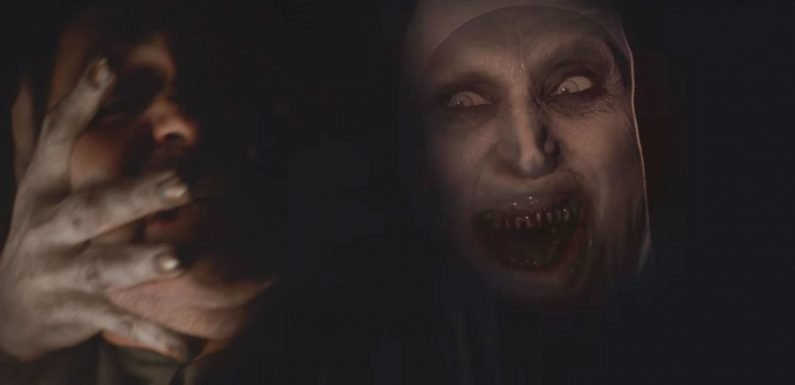 Conjuring spin-off The Nun's new teaser makes getting buried even more terrifying than it seems