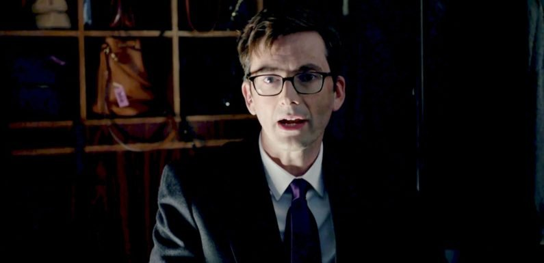 Watch Hang Ups outtake as Doctor Who's David Tennant becomes the patient from hell