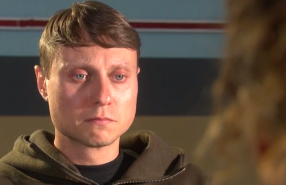 Hollyoaks' Milo Entwistle's secret is finally exposed as he faces police questions over his true identity