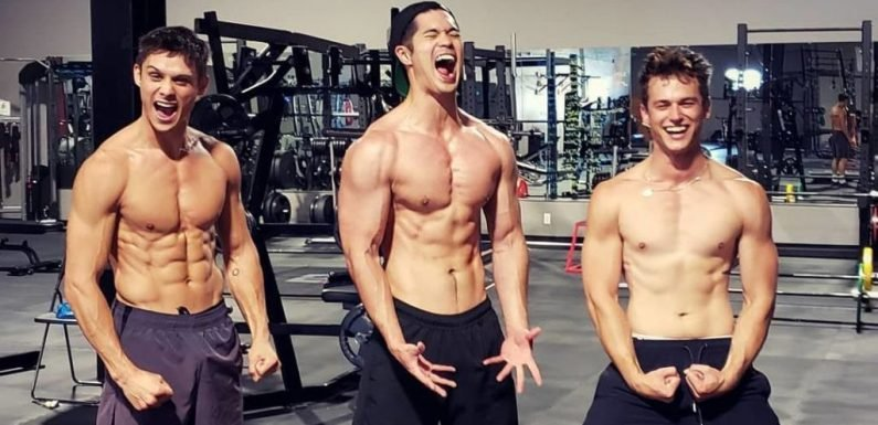 13 Reasons Why stars strip off for gym session as season 3 begins filming