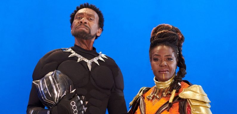 Lenny Henry becomes Marvel's Black Panther in new BBC parody TV show