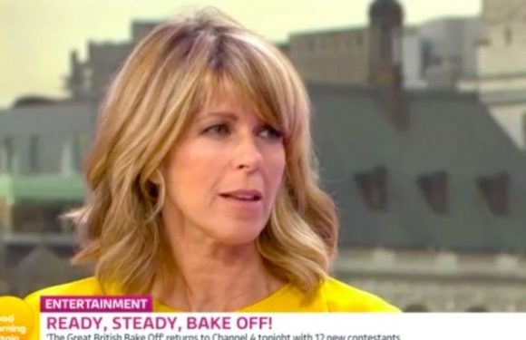 Good Morning Britain's Kate Garraway suffers on-air slip up as she forgets Great British Bake Off air time twice