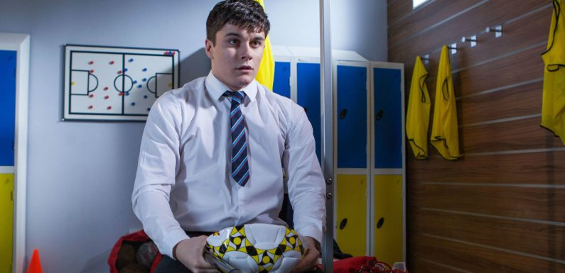 Hollyoaks airs a devastating twist in Ollie Morgan's story tonight after Buster confession