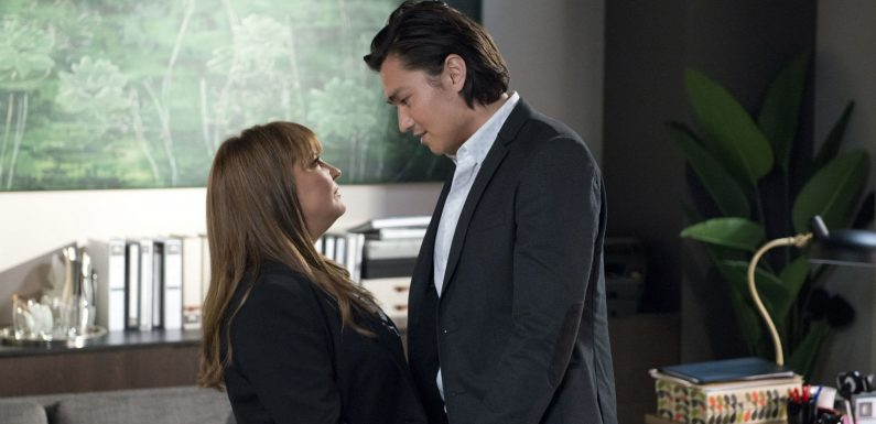 Neighbours' Terese Willis to reveal the truth about her feelings for Leo Tanaka
