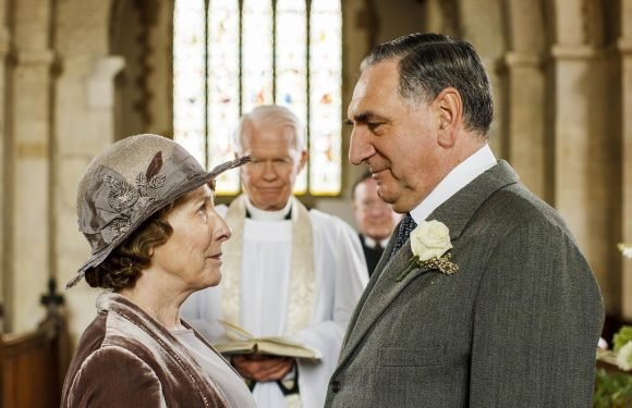 "Downton Abbey's Phyllis Logan reveals production on the movie will start ""any minute now"""