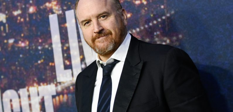 Louis CK takes stage for first time since #MeToo allegations