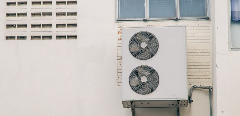 AC unit falls out of window, hits man on bench: suit