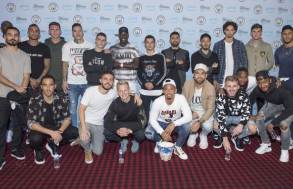 Manchester City Players Attend Premiere of Amazon's 'All or Nothing'