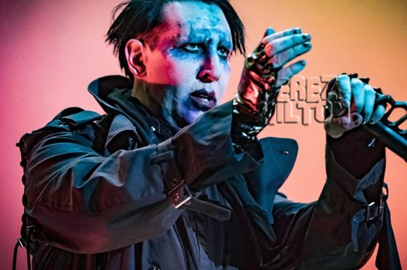 Marilyn Manson Collapses During Houston Concert After Suffering From 'Heat Poisoning'