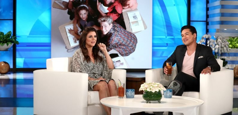 Mario Lopez & Tiffani Thiessen Reveal Their Kids Watch Saved by the Bell 30 Years Later: 'We're Old'