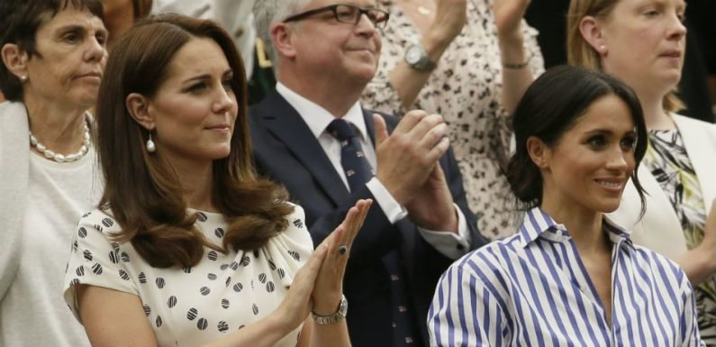 Meghan Markle, Kate Middleton Have A Secret Weapon To Protect Against Accidentally Revealing Their Underwear