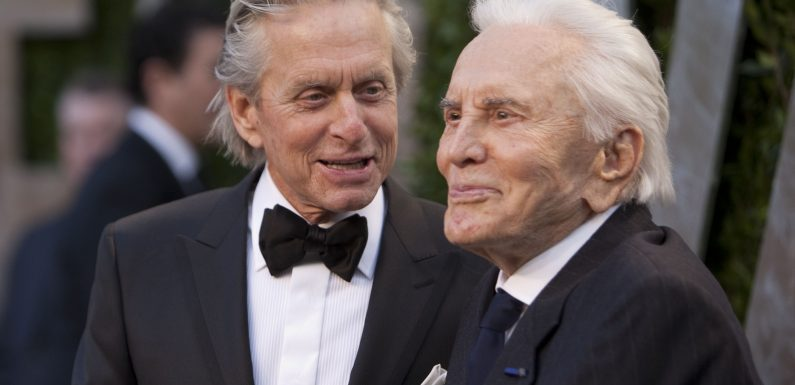 Michael Douglas admits it wasn't easy having Kirk Douglas for a father