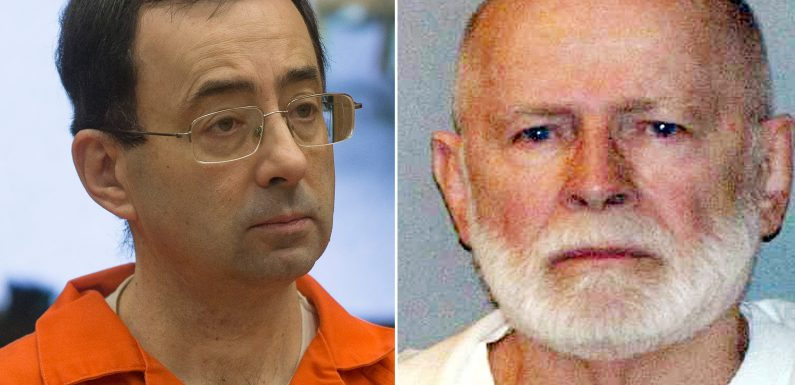 Larry Nassar's new prison neighbors include mobster 'Whitey' Bulger