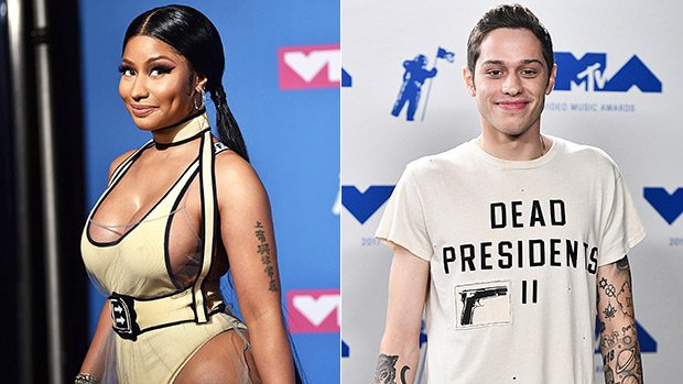Nicki Minaj Gushes Over Ariana Grande's 'Perfect' Fiance Pete Davidson: 'Does He Have A Brother, Bitch?'