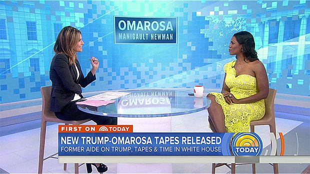 Omarosa Slammed For Wearing 'Inappropriate' Dress During Trump Bashing Interview