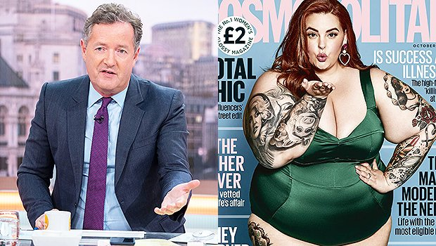 Piers Morgan Accused Of Fat Shaming Plus-Size Model Tess Holliday On Cover Of Cosmo UK