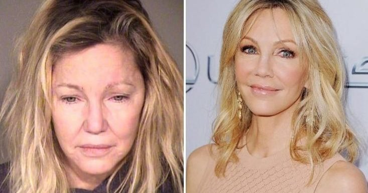 Heather Locklear charged after allegedly punching police officer and kicking paramedic while drunk