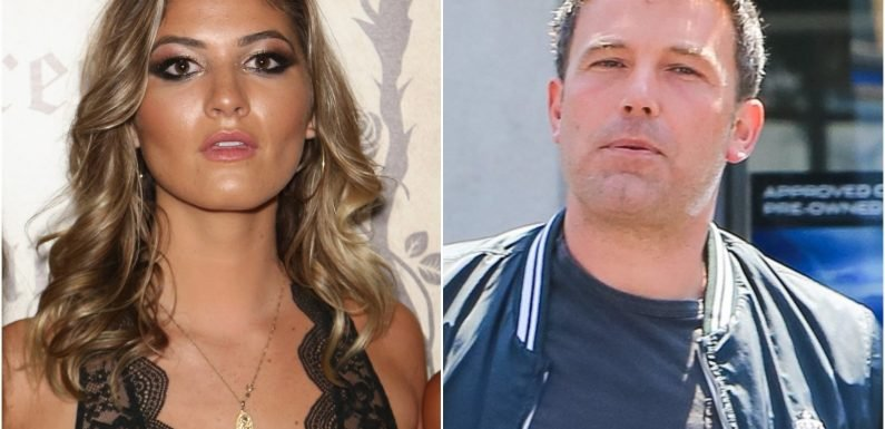 Ben Affleck's Playboy model fling loves all the attention she's getting