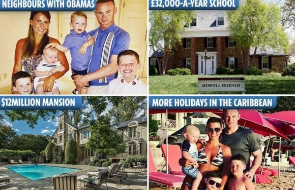 From sending their kids to £32k-a-year school with Barron Trump to spying on the Obamas – inside Coleen and Wayne's new life Stateside