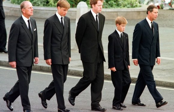 Prince William Reveals Who Decided He and Harry Should Walk Behind Diana's Coffin