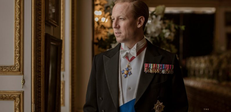 See Tobias Menzies as The Crown's New Prince Philip for the First Time