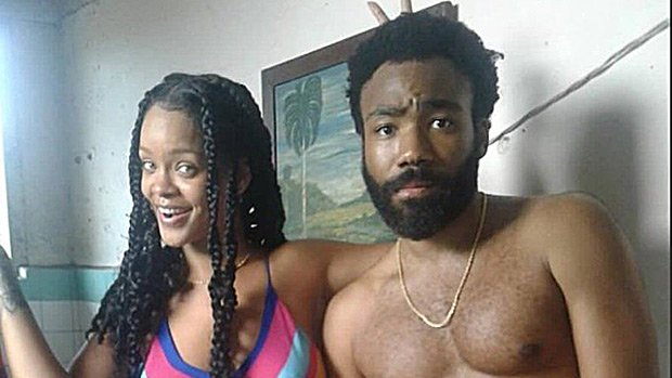 Rihanna Hangs With Shirtless Donald Glover & Fans Are Freaking Out About What They're Up To