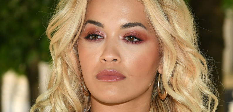 Rita Ora Shows Off Ample Cleavage In Revealing Crop Top And Shorts On Instagram