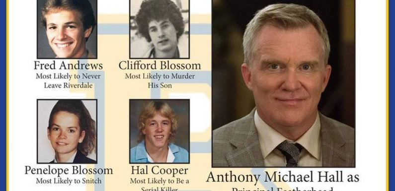 Anthony Michael Hall Cast for 'Riverdale' Flashback Episode Inspired by 'Breakfast Club'