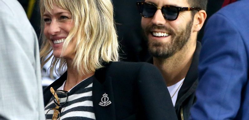 Boho Bride! See Robin Wright's Chic Wedding Gown at Her French Nuptials to Clement Giraudet