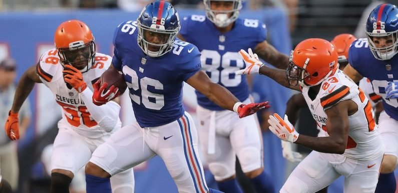 Video Appears To Show Giants Rookie Saquon Barkley Rip A Giant Fart On The Field In Preseason Game