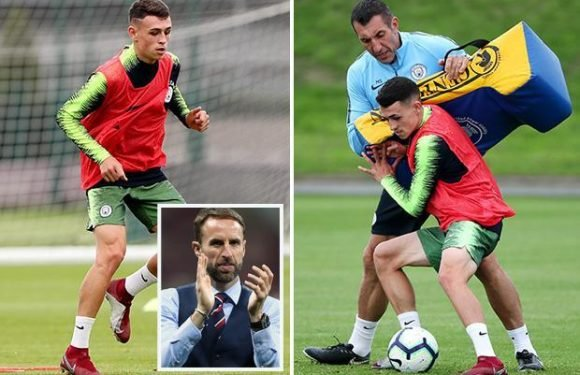 England boss Gareth Southgate seriously considering Manchester City star Phil Foden for his next squad
