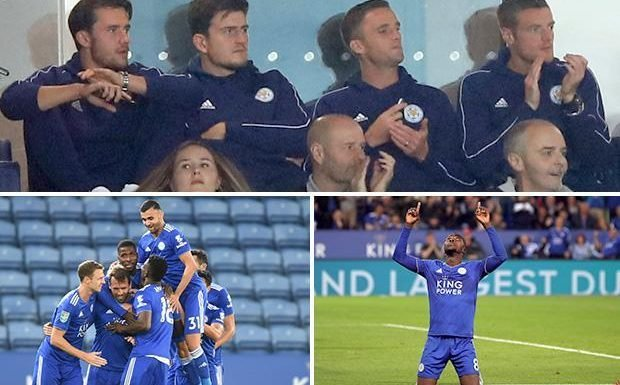 Leicester 4 Fleetwood 0: Foxes don't miss banned Jamie Vardy as they run riot against League One opposition