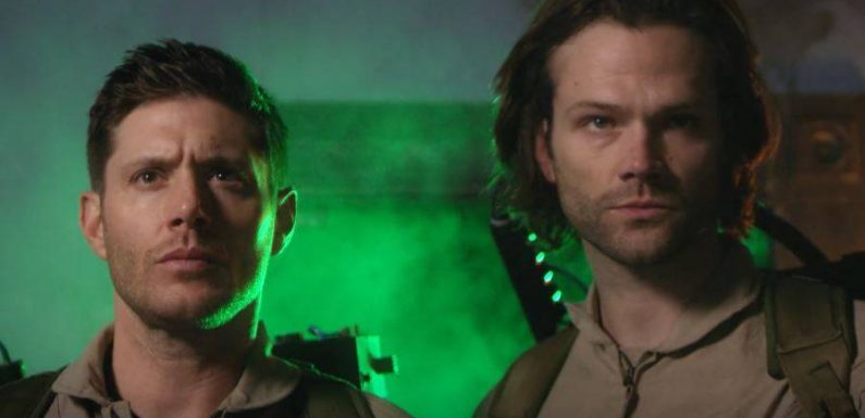 Watch 'Supernatural' Stars Jared Padalecki and Jensen Ackles Go 'Ghostbusters' in Parody Video