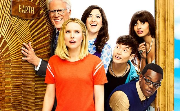 Good Place Season 3 Poster: Eleanor and the Gang Come Back Down to Earth