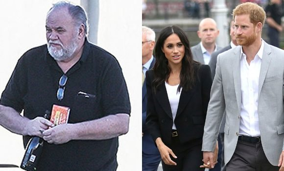 Meghan Markle's Dad Reveals That He Hung Up On Prince Harry After Staged Picture Scandal