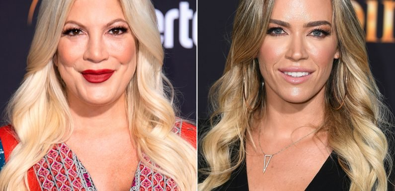 Tori Spelling Hires RHOBH's Teddi Mellencamp as Accountability Coach: 'After Baby No. 5, Weight Didn't Come Off as Easily'
