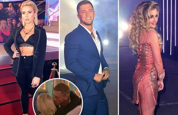 Celebrity Big Brother's Gabby Allen and Dan Osborne come face to face as Bad Girl Natalie Nunn wears sheer dress
