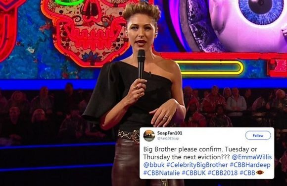 Emma Willis in Celebrity Big Brother blunder as she announces next eviction