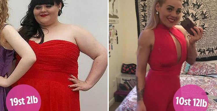Woman turns her life around to lose a whopping 8st after diabetes scare and reveals the diet that helped her do it