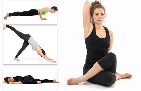 Four easy yoga poses that'll SLASH your blood pressure in 15 minutes
