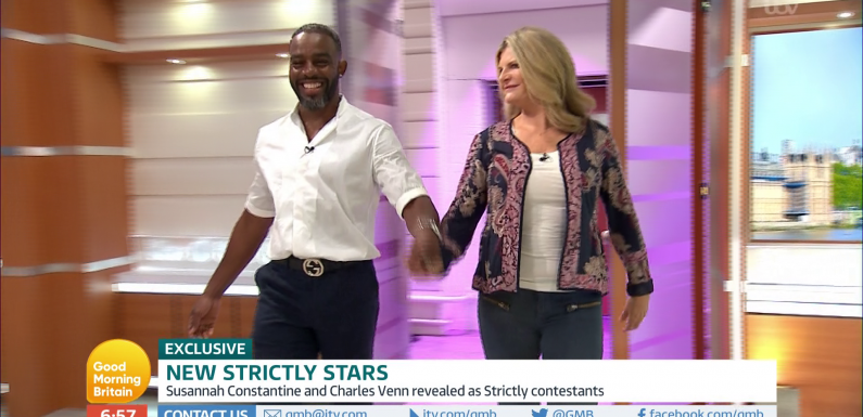Susannah Constantine and Charles Venn revealed as 14th and 15th celebrities to appear on Strictly Come Dancing 2018