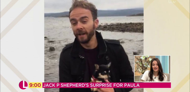 Coronation Street's Jack P Shepherd records special message for his former on-screen wife Paula Lane as she admits struggling to get over Kylie Platt's death