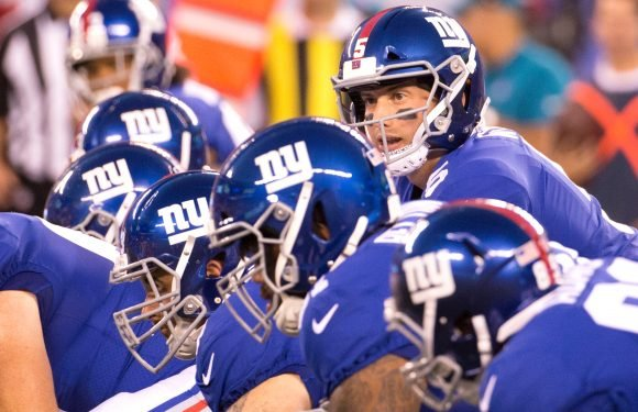 Behind the first glimpse of Giants' new-look offensive line