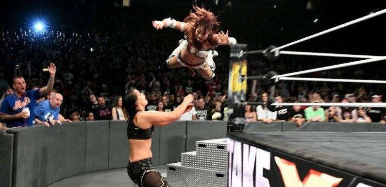 WWE News: Kairi Sane Wins Title At 'NXT Takeover,' Shayna Baszler May Be At 'SummerSlam' With Ronda Rousey