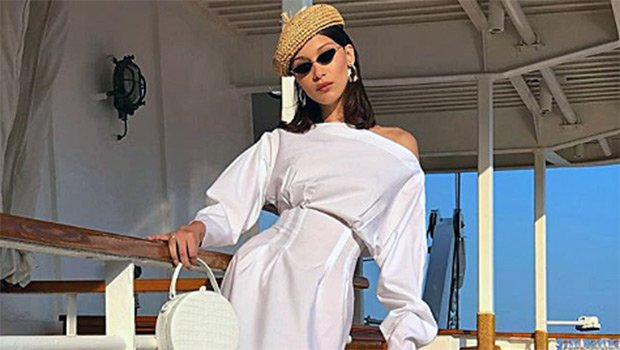 Bella Hadid, Kendall Jenner & More Stars Getting Their White Dress Fix In Before Labor Day