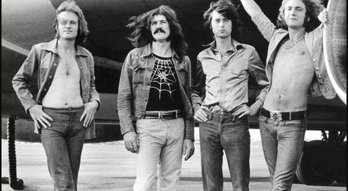 Led Zeppelin Teases 50th Anniversary Photo Book