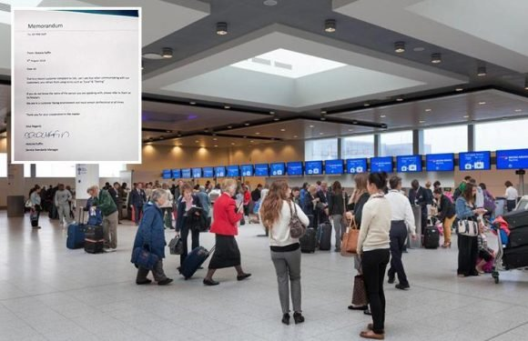Gatwick staff banned from calling passengers 'love' or 'darling' after only one complaint