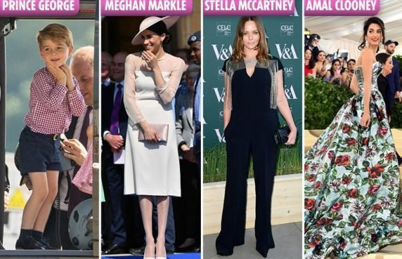 Meghan and Prince George are among fashion royalty as Stella McCartney and Amal Clooney all appear on Tatler's Best Dressed List for 2018